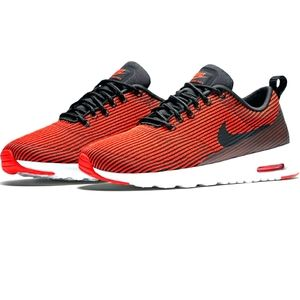 Women's NIKE AIR MAX Thea Red/Black Athletic Shoes